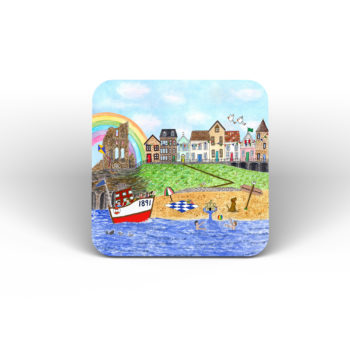 Image of coaster with Tynemouth design