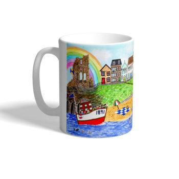 Mug featuring Tynemouth design.